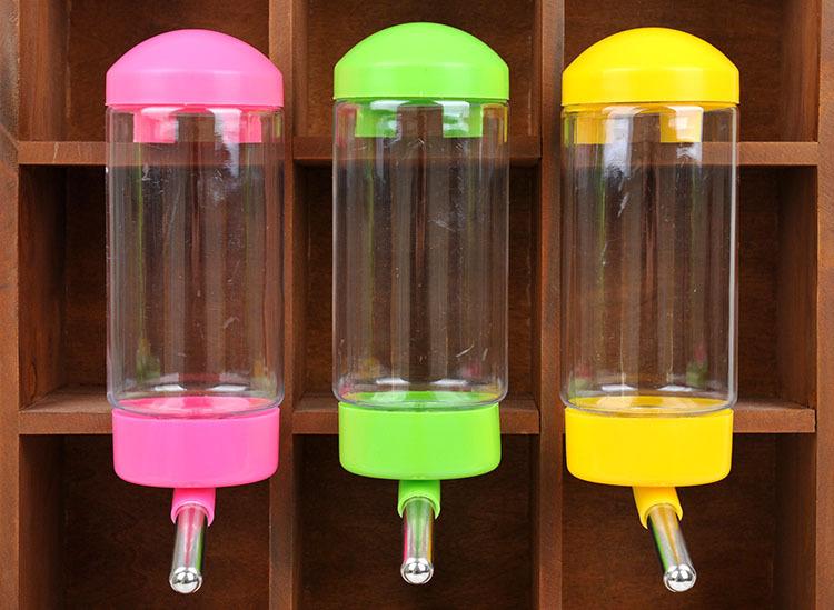 寵物飲水器狗狗自動餵水瓶可掛式不銹鋼滾珠防漏寵物水壺
